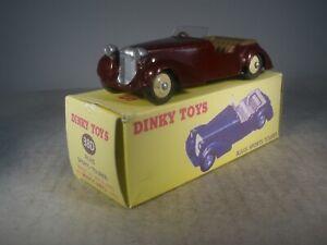 Dinky Toys CUSTOM ALVIS SPORTS TOURER #38D IN GREAT BOX