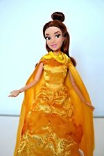 Disney Store Princess Beauty and the Beast Belle Singing Doll 12 inch
