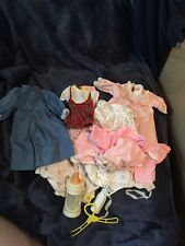 Vintage Lot Of Dolls Clothing And Accessories