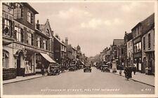 Melton Mowbray. Nottingham Street # G.522 by Valentine's.