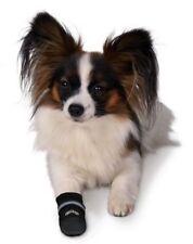 Vêtements et chaussures noires unisexe en nylon pour chien