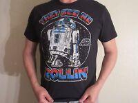 Disney Star Wars T Shirt Short Sleeve Men Large Black NWT Authentic