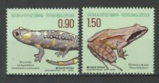 Bosnia and Herzegovina Serbian 2013 Fauna Animals Frogs 2 MNH stamps