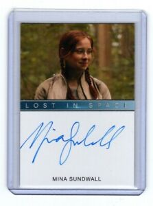 Lost In Space Season 1 Mina Sundwall as Penny Robinson Autograph Card