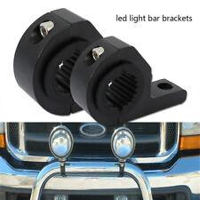 2pcs MOUNT BRACKET TUBE CLAMPS FOR LED LIGHT BAR OFF ROAD BULL BAR HID ATV