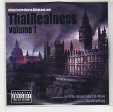 (GH112) That Realness - Volume 1, mixed by DaddyRay - DJ CD
