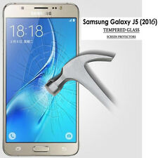 New Genuine Tempered Glass HD Clear Screen Protector For Samsung Galaxy J52016