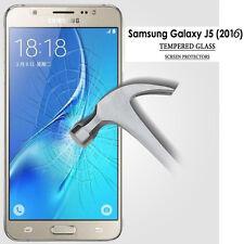 Nuevo Genuino HD claro Protector de Pantalla de Vidrio Templado para Samsung Galaxy J52016