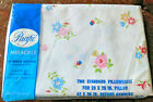Vintage  Pacific Mills Miracale Standard Pillowcases 42x36 Cotton/Poly Percale