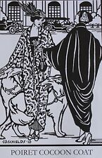 Folkwear 1900's Poiret Cocoon Coat & Reticule Handbag Sizes 8-20 Pattern 503