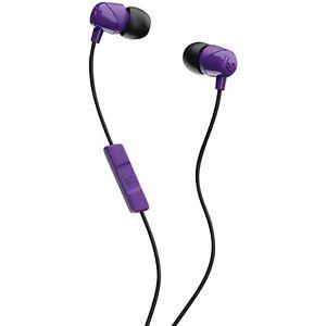 Brand New Skullcandy Jib In-Ear w/ mic Purple HEADPHONES S2DUYK-629