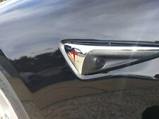 """Tesla Model X Turn Signal """"T"""" Decal for Autopilot 2 Hardware - color options"""