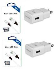 Samsung Galaxy J7 Sky Pro,Prime,Perx,J7 V Fast OEM Wall Car Adapter USB 5 Feet