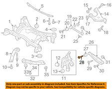 SUBARU OEM 92-97 SVX Rear Suspension-Lower Control Arm Rear Bolt 901000110