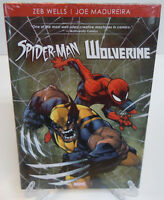 Spider-Man/Wolverine by Wells & Madureira Marvel Comic HC Hard Cover New Sealed