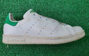 adidas M20605 Originals Big Kid's Stan Smith Sneaker White / Green Sz 5
