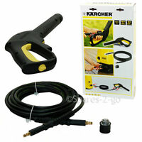 KARCHER Genuine K3 K4 Pressure Washer Quick Connect 7.5M Hose & Handgun 26423010