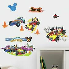 MICKEY AND THE ROADSTER RACERS WALL DECALS Pluto Goofy Race Cars Disney Stickers