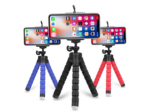Mobile Phone Tripod Universal Mini Holder Stand Grip For iPhone Samsung Camera