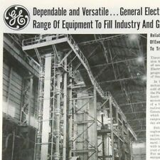 1961 GE General Electric USA Industry Equipment Original Vintage Print Ad Advert
