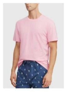 Polo Ralph Lauren Men's Sleep Shirt S M L XL Jersey V-Neck or Crew T-Shirt