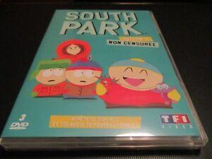 "COFFRET 3 DVD NEUF ""SOUTH PARK, SAISON 3"""