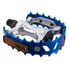 PEDALS SE RACING BEAR TRAP 9/16 BLUE OLD SCHOOL BMX