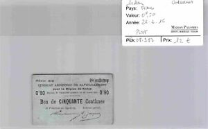 Bon des régions SEDAN - 0,50 francs 26/2/16 - N°00,531