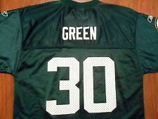 Vintage Ahman Green #30 Green Bay Packers Jersey by Reebok, Youth Large, NICE!!