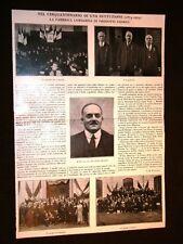 Fabbrica Lombarda Prodotti chimici nel 1925 50° Anniversario Enrico Molaroni