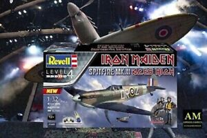 Revell 1:3 2 - Iron Maiden Aces High - Spitfire Mk II - With 2 Figures New