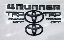 New 2014-2019 Toyota 4Runner Trd Off Road Matte Black Emblem Replacement Fast