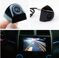 170° HD Car Auto Front View Camera Waterproof Snap-in Design Night Vision Black