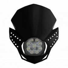 MASCHERINA PORTAFARO A LED [ACERBIS] FULMINE - UNIVERSALE PER MOTO - NERA
