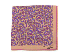 Lord R Colton Masterworks Pocket Square $75 Retail New Loch Ness Purple