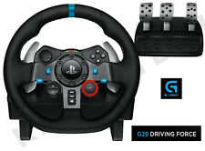 Logitech G G29 conducción Force Racing Rueda & Pedales 4 Playstation PS4/PS3 & PC