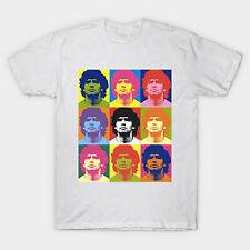 Warhol Maradona Cotton T-shirt S-3XL