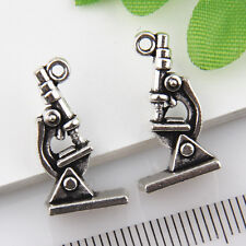 10Pcs Tibetan Silver Microscope Pendants Charms 21*11mm 1A1809