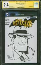 Batman Detective 20 CGC SS 9.4 Joe Staton Dick Tracy Original art sketch 2013