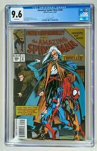 Amazing Spider-Man #394 / CGC 9.6 NM+ / Marvel 1994 / POWER & RESPONSIBILITY