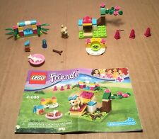 2015 Lego Friends Set# 41088-PUPPY TRAINING 65Pcs  w/Instructions
