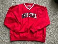 OHIO STATE BUCKEYES - NEW Pullover - Water Resistant - Embroidered Men's XL