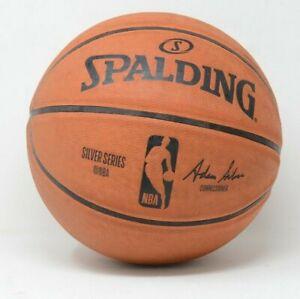 Spalding NBA Game Ball Replica Silver Series Basketball