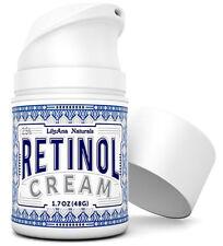 Crema Hidratante Natural de Retinol para Anti Envejecimiento, Acné y Arrugas!