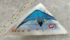 Rm1 sahaja 1pc Canada Post Used Triangle Stamp #2 Air Sports Gliding Dangerous