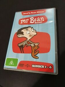 Mr Bean The Animated Series Complete DVD Set Vol 1-6 **RARE R4**