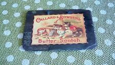 Hanging vintage design callard & bowser butter scotch decopage slate