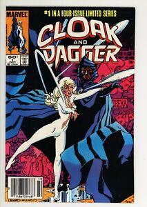 Cloak & Dagger 1 - Newsstand - High Grade 9.4 NM