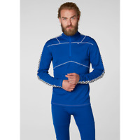 Helly Hansen Lifa Active 1/2 Zip Thermal Top 48302/563 Olympian Blue NEW