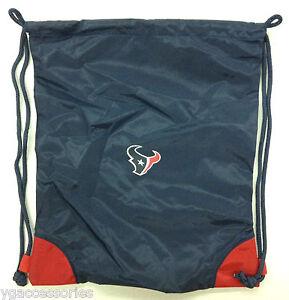 NWT NFL Houston Texans Reebok Sling Gym Backpack Sack Bag NEW!